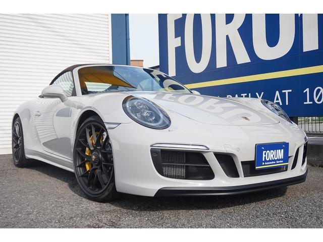 ポルシェ 911カレラGTS カブリオレ PCCB 7MT 新車並行