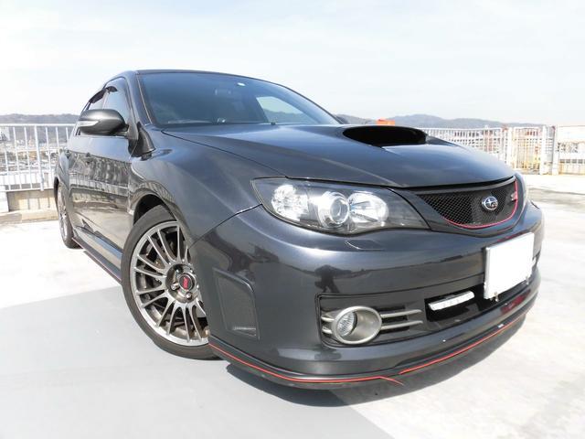 スバル WRX STI Aライン HKS車高調 マフラー HDDナビ