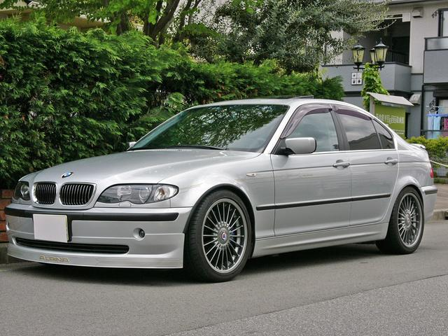 BMWアルピナ 3.3リムジンKW車高調StopTechブレ-キ外ナビTV
