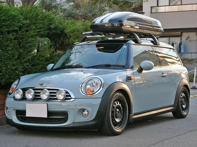 MINI クーパー クラブバン限定車 外車高調 ルーフBOX