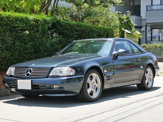 メルセデス・ベンツ SL320 99モデル 右H 黒ナッパ革 HID AW