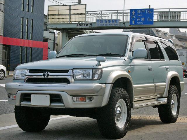 トヨタ ハイラックスサーフ SSR-X リフトアップ DEEN16AW BFG ナビTV