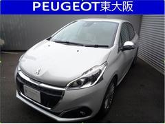 プジョー 208アリュール 新車保証継承 デモカーアップお買い得車