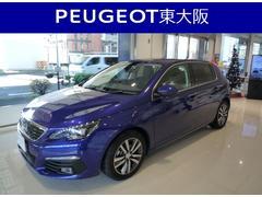 プジョー 308アリュール ブルーHDi 新車保証継承 デモカーアップ車