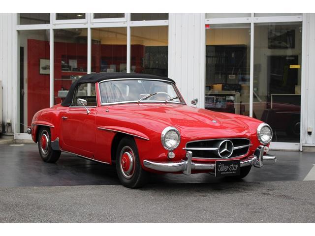 メルセデス・ベンツ 190SL W121 4MT 1960年式 幌張り替え済み
