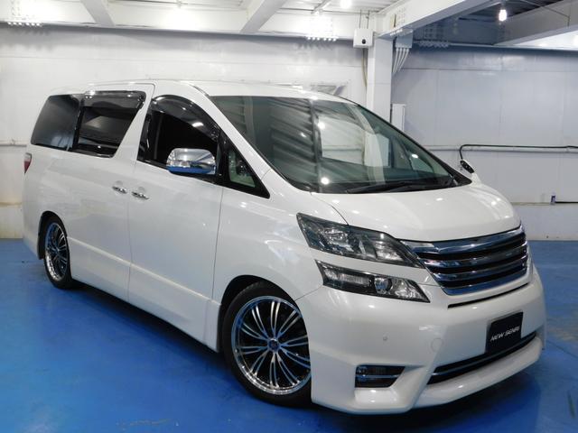 トヨタ 2.4Z プラチナムセレクション 19アルミ 両電動ドア