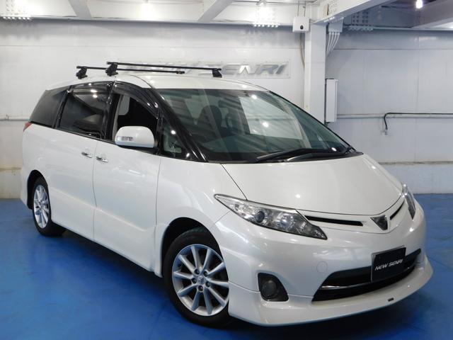 トヨタ 2.4アエラス Gエディション両電動ドア 天井モニターテレビ