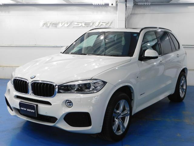 BMW xDrive 35d Mスポーツ黒革サンルーフ電動バックドア