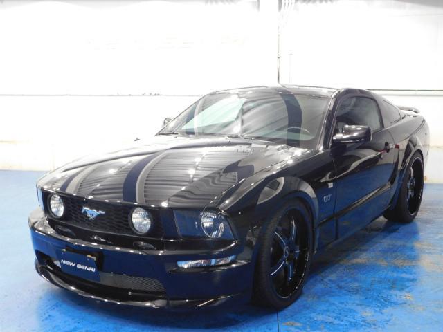 フォード V8 GT プレミアム ゼノンエアロ 22アルミ 黒革