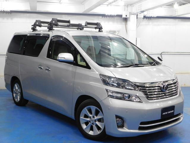 トヨタ 2.4V 走行47000キロ 両電動ドア 天井モニターテレビ