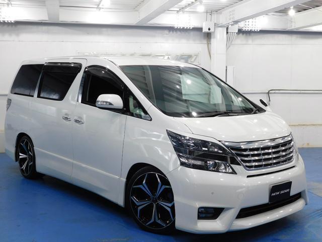 トヨタ 2.4Z プラチナムセレクション20アルミ 車高調整
