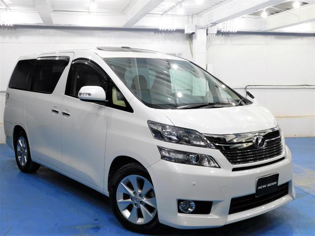 トヨタ 2.4V サンルーフ両電動ドア電動バックドア大型ナビTV