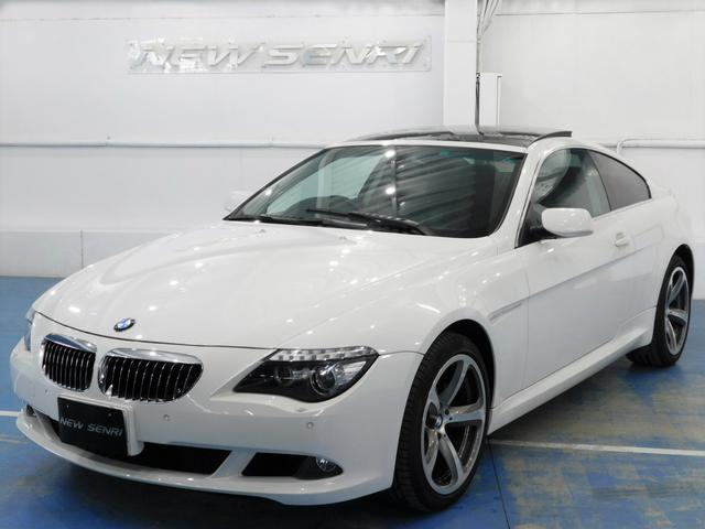 BMW 6シリーズ 630i 鑑定書・整備・保証付/黒本革/サンルーフ/19アルミ/ナビテレビ