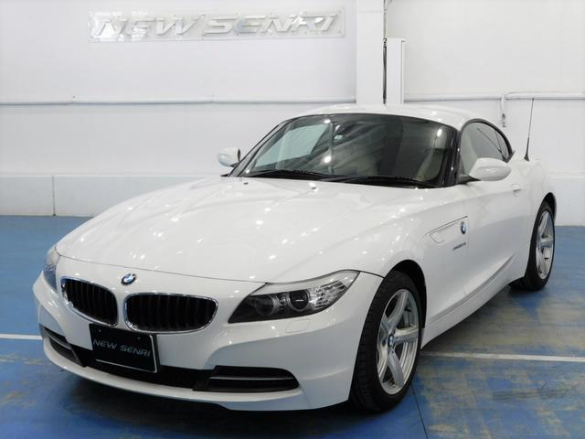 BMW Z4 sDrive23i ハイラインパッケージ 鑑定書・整備・保証付/白本革/ナビテレビ/電動オープン/電動シート/