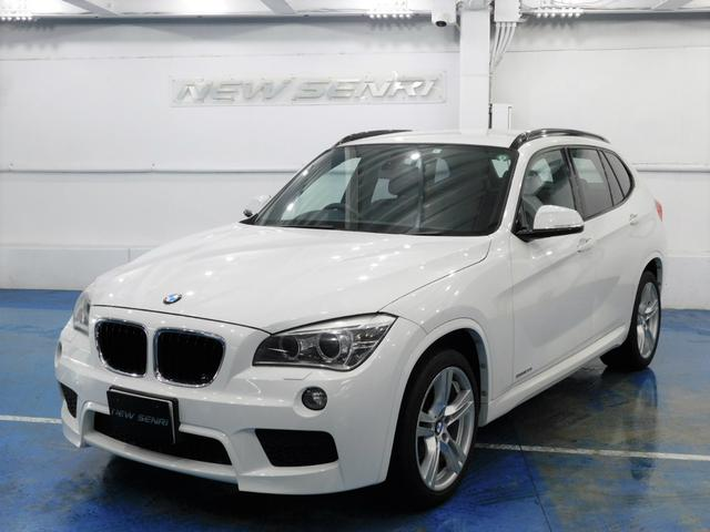 BMW X1 sDrive 20i Mスポーツ 鑑定書・整備・保証付/黒本革/ナビTV/Mスポーツエアロ&18アルミ