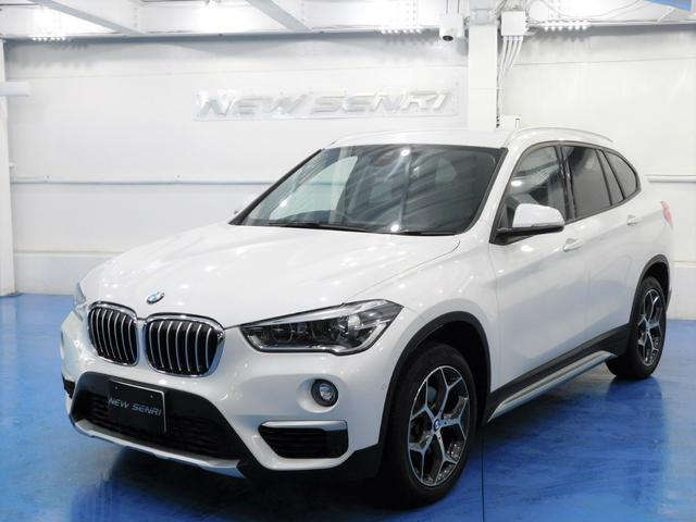BMW X1 xDrive 18d xライン 純正ナビ・衝突自動軽減ブレーキ・電動バックドア・鑑定証明・整備保証付