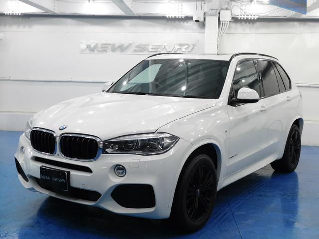 BMW X5 xDrive 35d Mスポーツ 黒本革・サンルーフ・純正ナビテレビ・電動バックドア・OZ19アルミ・鑑定証明・整備保証付