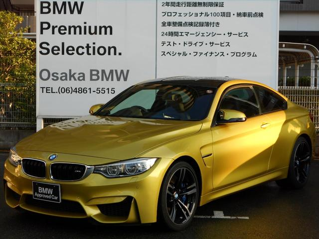 BMW M4クーペ アダプティブMサス 19インチ ワンオーナー