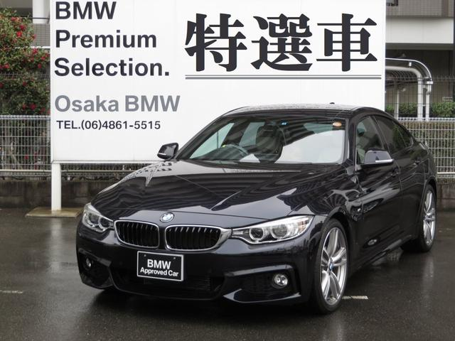 BMW 428iグランクーペ Mスポーツ白革19インチAWワンオナ