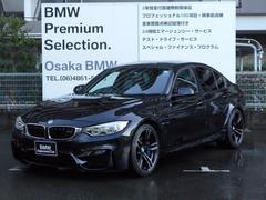 BMWM3ワンオーナー アダプティブMサス 19インチAW 黒革