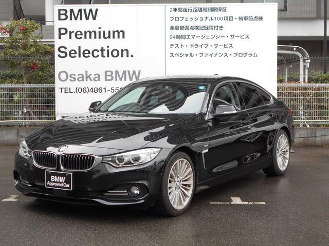 BMW 420iグランクーペ ラグジュアリー1オナ黒革トップビュー