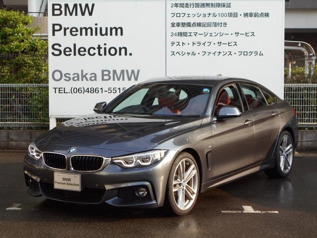 BMW 420iグランクーペ Mスポーツ 赤レザーデモカー19インチ