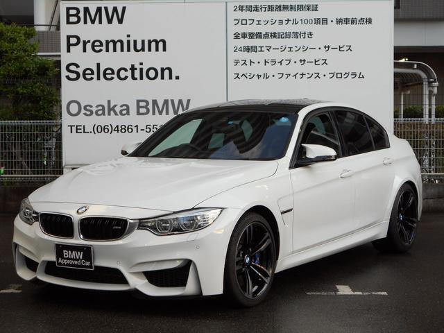 BMW M3 ワンオーナー黒レザー19インチAWパフォーマンステール