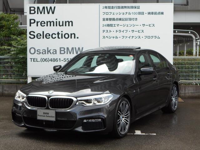 BMW 530i Mスポーツ セレクトパッケージ黒レザーHDDナビ