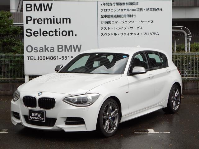 BMW M135i HDDナビBカメラ18インチアルミパドルシフト
