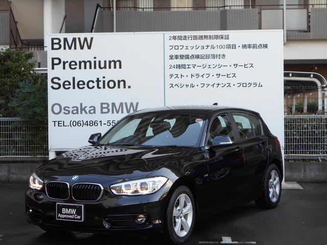 BMW 118iスタイル コンフォートPパーキングサポートPデモカー