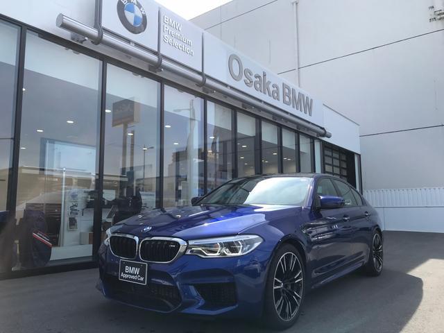 BMW M5ワンオーナー20インチAW黒レザーHDDナビ地デジLED
