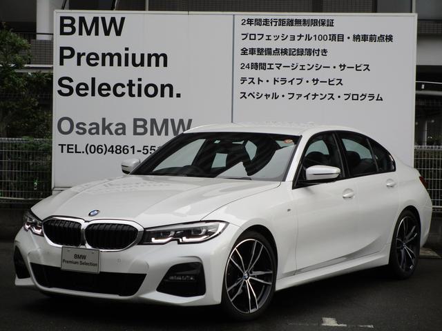 BMW 318i Mスポーツ 弊社デモカー コンフォートPKG パーキングアシストプラス 19インチアロイホイール 衝突被害軽減ブレーキ HDDナビ ルームミラー内蔵ETC2.0 渋滞時ハンズオフアシスト ACC ハンドルアシスト