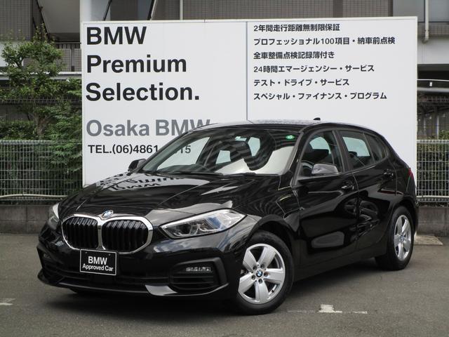 BMW 1シリーズ 118i プレイ ナビゲーションパッケージ 衝突被害軽減ブレーキ バックカメラ&センサー 車線逸脱警告 ルームミラーETC コンフォートアクセス ディラー保証 16インチアロイホイール