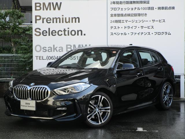 BMW 118i Mスポーツ 弊社デモカー ナビゲーションパッケージ コンフォートパッケージ ACC 衝突被害軽減ブレーキ 車線逸脱警告 ETC LEDヘッドライト 18インチアロイホイール