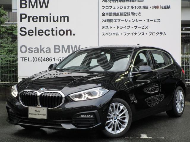 BMW 118d プレイ エディションジョイ+ BMW JAPANデモカー ナビゲーションPKG コンフォートPKG ストレージPKG 17インチアロイホイール 衝突被害軽減ブレーキ ルームミラー内蔵ETC2.0 運転席電動シート LED ACC