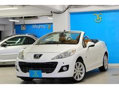 プジョー 207CC ロランギャロス プジョー専門店保証付 20台限定車ナビ