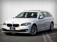 BMW523iツーリング ラグジュアリー レザー ナビ TV