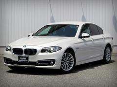 BMW523d ラグジュアリー 電動トランク ソフトクーローズ