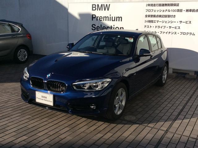 BMW 1シリーズ 118i スポーツ 弊社デモカー バックカメラ...