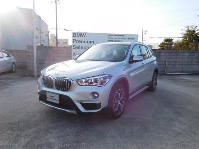 BMW X1 xDrive 18d xライン弊社試乗車コンフォート...