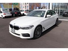 BMW530i Mスポーツ 白革 イノベーション 19インチアルミ