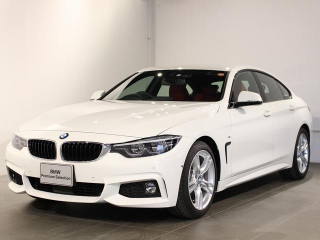 BMW 420iグランクーペ Mスポーツ レザーシート シートヒーター パーキングサポート 衝突軽減ブレーキ 車線逸脱 後方検知 18インチアロイホイール