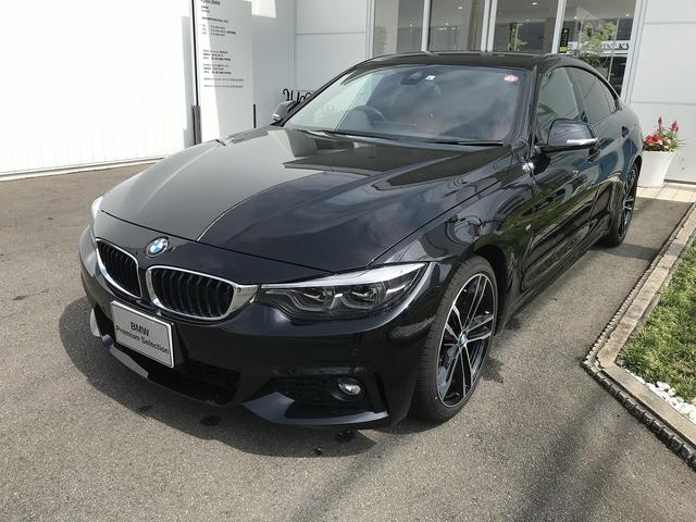 BMW 420iグランクーペ Mスポーツ ファストトラックパッケージ アダプティブヘッドライト 19インチアロイホイール ヘッドアップディスプレイ レザーシート シートヒーター 電動シート