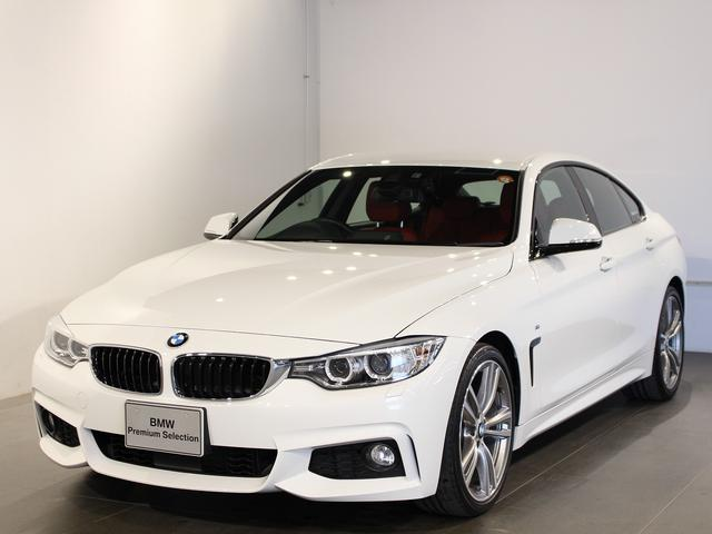 BMW 420iグランクーペ Mスポーツ アクティブクルーズコントロール 19インチアロイホイール レザーシート シートヒーター 衝突軽減ブレーキ 車線逸脱 後方検知