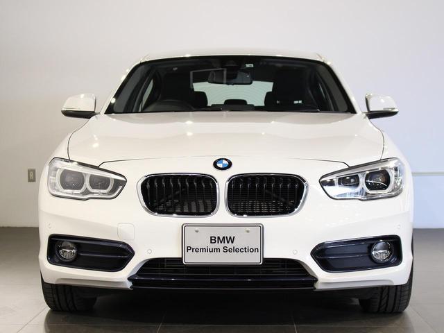 BMW 118d スポーツ クルーズコントロール 16インチアロイホイール 衝突軽減ブレーキ 車線逸脱 パーキングサポート