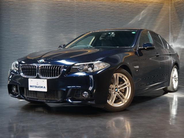 BMW 523dMスポーツ 別途メーカ保証 ACC 車線逸脱 地デジ