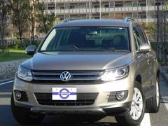 VW ティグアンTSIブルーモーションテクノロジー 記録簿 禁煙車 ナビ