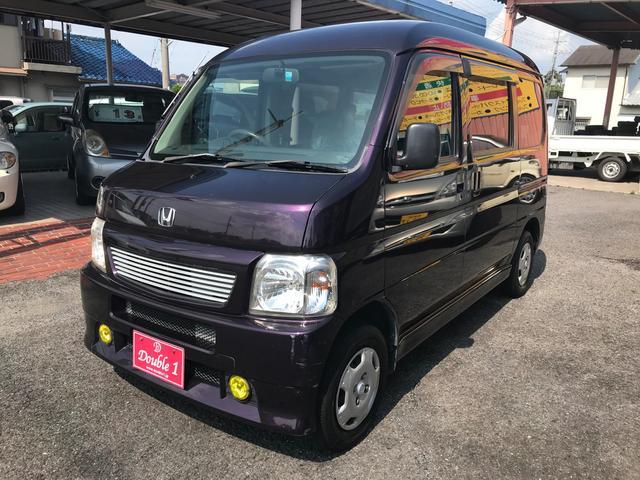 ホンダ ベースグレード 4WD 5MT ナビ・TV