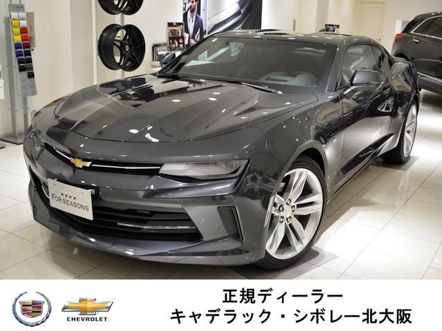 シボレー LT RS GM正規D車 新車未登録 黒レザー