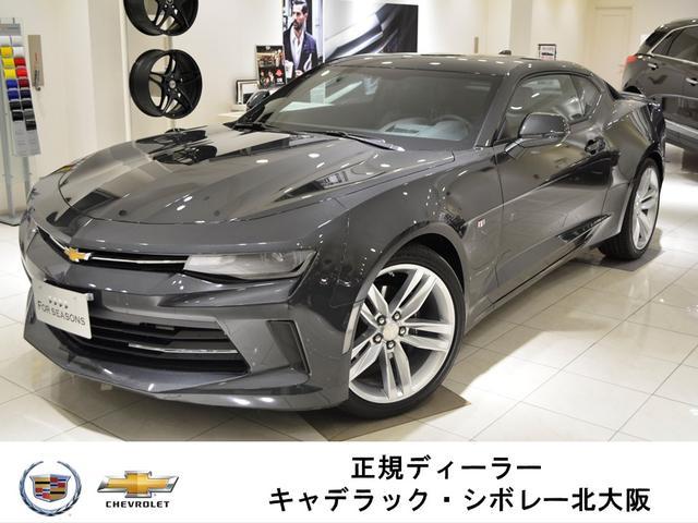 シボレー LT RS GM正規D車 新車未登録 黒レザー サンルーフ